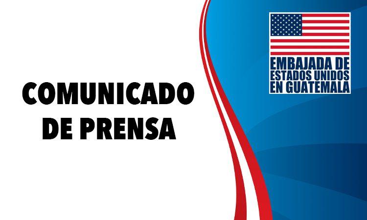 Embajada de Estados Unidos en Guatemala responde a las declaraciones del Presidente Alejandro Giammattei