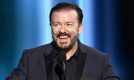 El comediante Ricky Gervais critica fuertemente a la industria de Hollywood