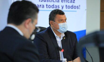 Vicepresidente Castillo considera que Giammattei exagera al invocar a la OEA