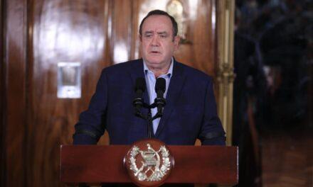 Presidente Giammattei anuncia el cierre del Centro de Gobierno