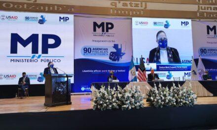 El MP inaugura 90 agencias fiscales a nivel nacional