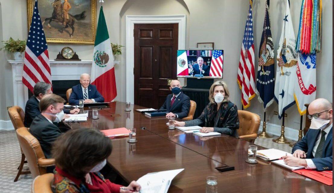 Estados Unidos y México acuerdan fortalecer relaciones de cooperación bilateral