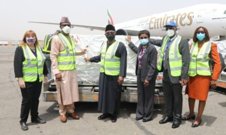 Nigeria y Angola reciben primer lote de vacunas contra el COVI-19