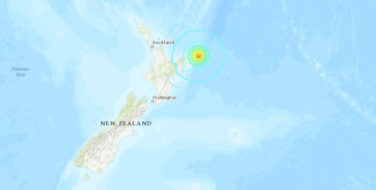 Temblor de magnitud 7.2 golpea a Nueva Zelanda