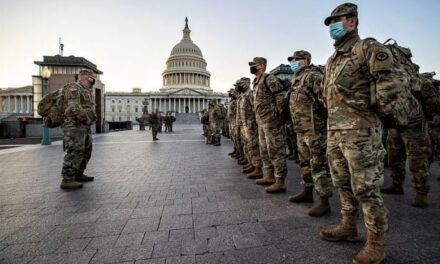La Guardia Nacional continuará custodiando el Capitolio por dos meses más