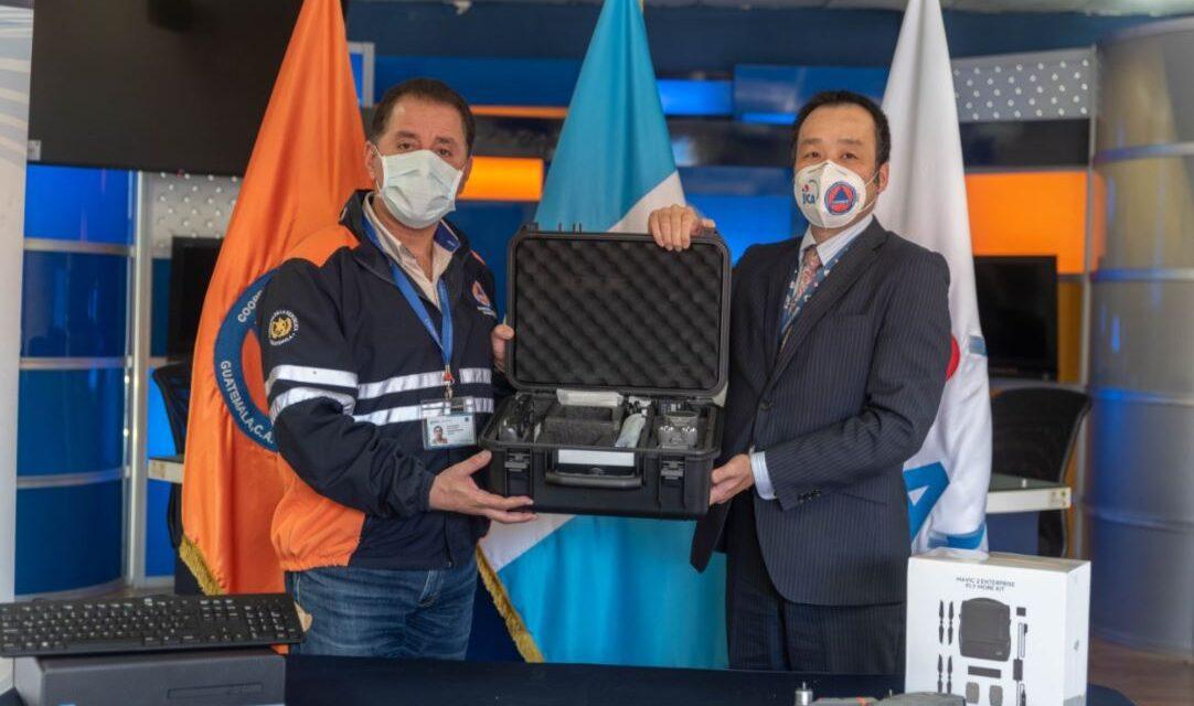 Japón dona equipo tecnológico para vigilancia volcánica