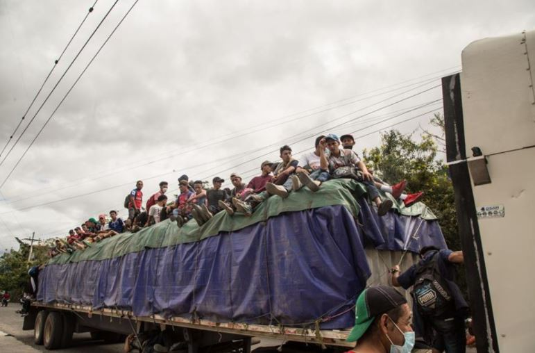 Decretan Estado de Prevención en 5 departamentos ante la posible llegada de caravanas migrantes