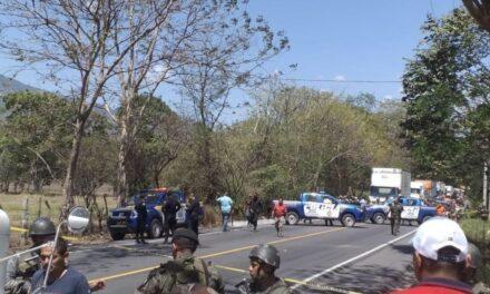 Enfrentamiento armado en la aldea El Tempisque, Gualán, Zacapa
