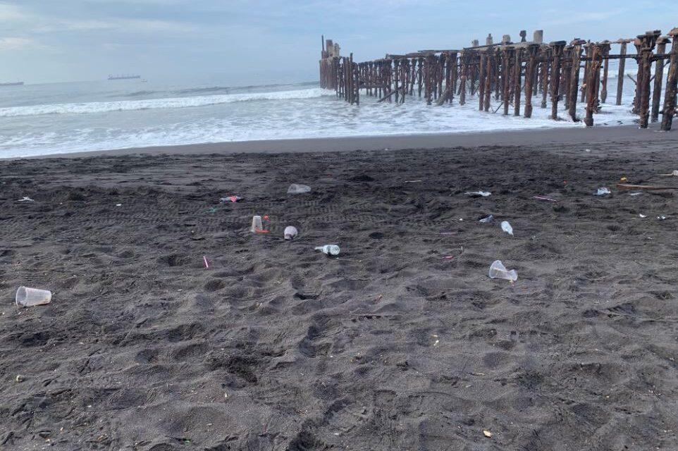 Recolectan 150 toneladas de desechos sólidos en playas públicas