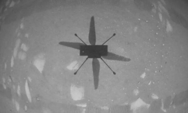 El helicóptero Ingenuity de la NASA realiza histórico primer vuelo