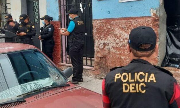 Autoridades llevan a cabo 78 allanamientos en Guatemala y Escuintla