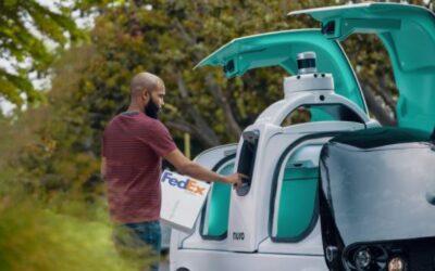 FedEx y Nuro se unen para hacer entregas en vehículos autónomos