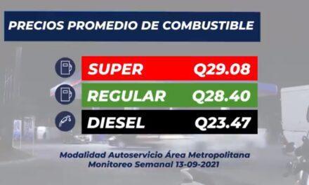 Informe semanal sobre el precio de los combustibles