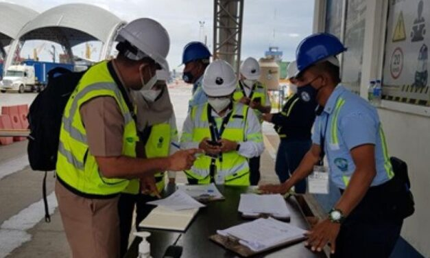 Ministerio de la Defensa Nacional regula los niveles de protección en la Empresa Portuaria Santo Tomas de Castilla.