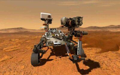 El rover Perseverance de la NASA recoge la primera muestra de una roca de Marte